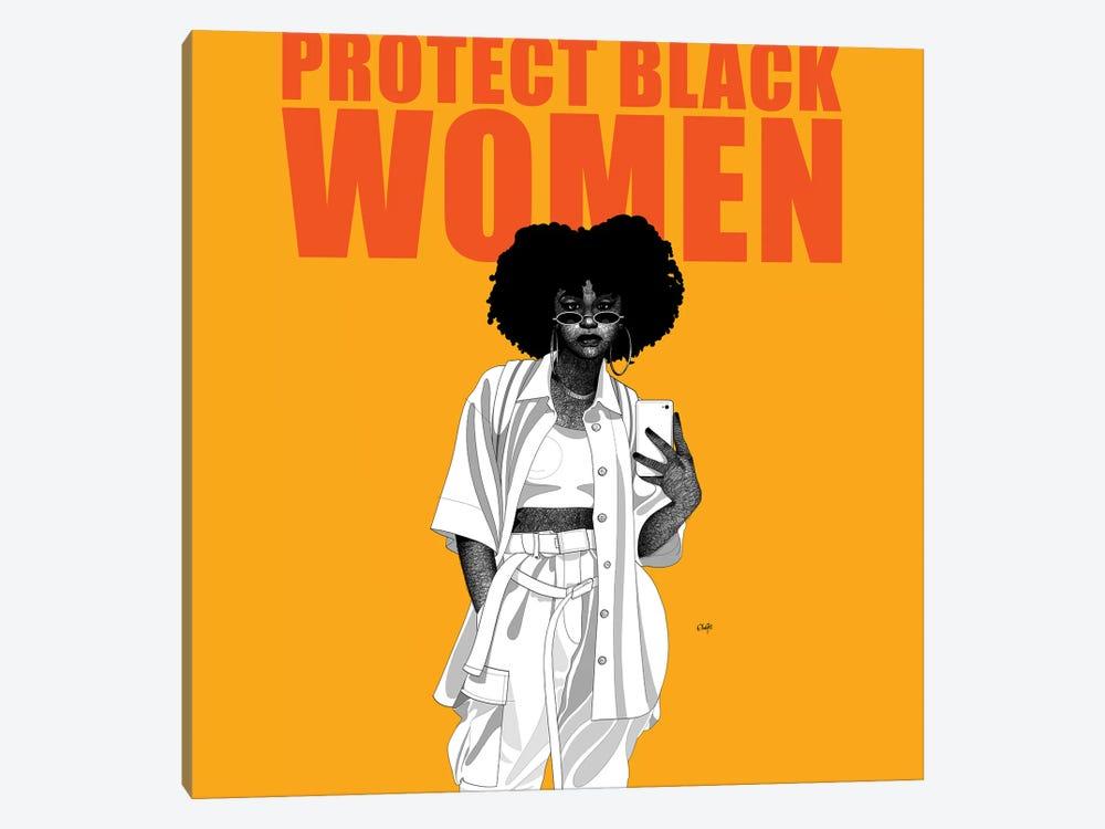 Protect Black Women by Ohab TBJ 1-piece Art Print