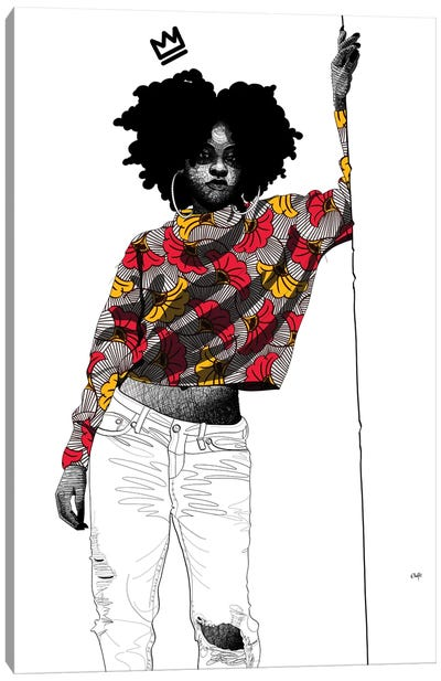 Say What Now I Canvas Art Print