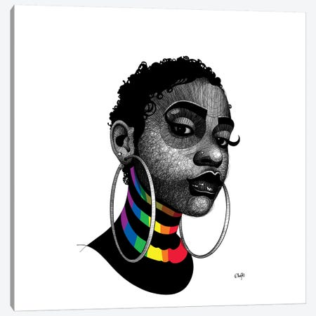 On Stripes 1 Canvas Print #TBJ46} by Ohab TBJ Art Print