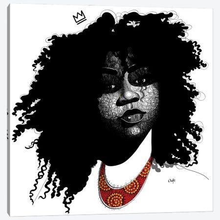 Ava Canvas Print #TBJ47} by Ohab TBJ Art Print