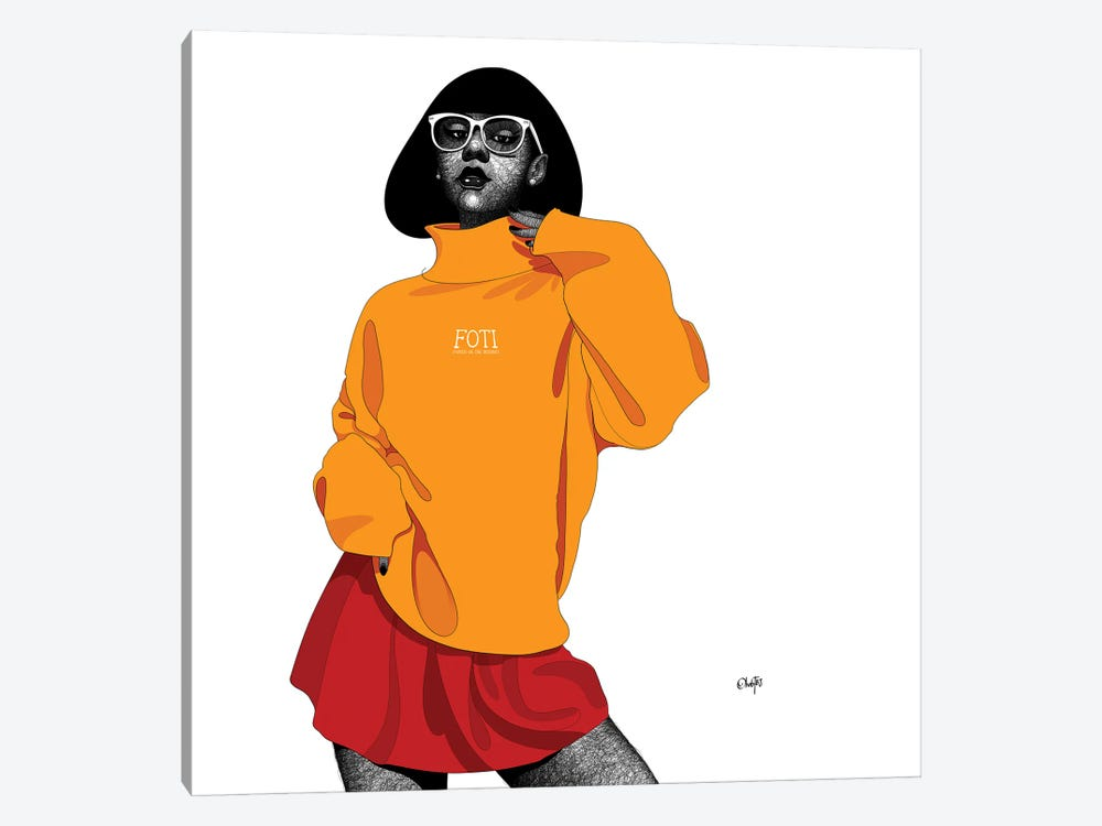 I Heard All Your Friends Are Famous by Ohab TBJ 1-piece Canvas Art Print