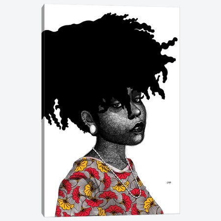 Sisi Nene Canvas Print #TBJ58} by Ohab TBJ Canvas Print