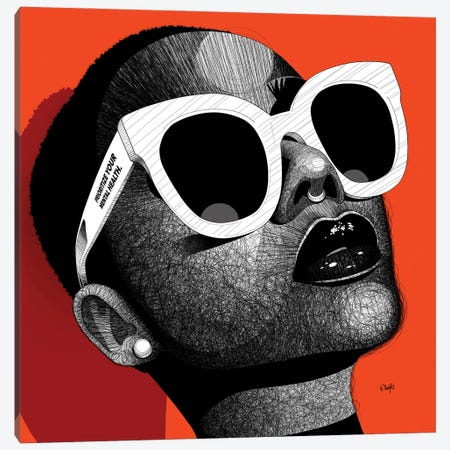Unbothered II Canvas Print #TBJ66} by Ohab TBJ Art Print