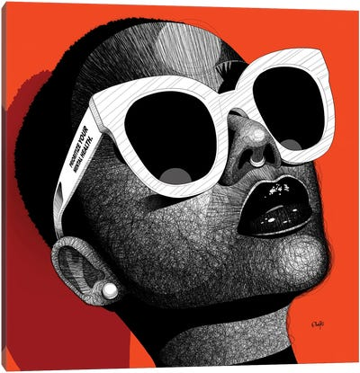 Unbothered II Canvas Art Print