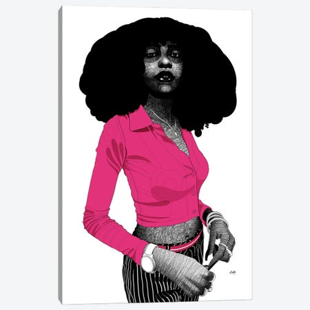 The Blacker The Berry Canvas Print #TBJ74} by Ohab TBJ Canvas Art