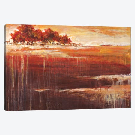 Sienna Setting  Canvas Print #TBU102} by Terri Burris Canvas Wall Art