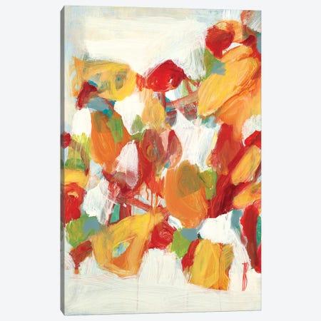 Sweet Flowers Canvas Print #TBU108} by Terri Burris Canvas Art