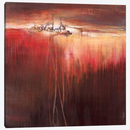 Tangerine Dreams Canvas Print #TBU109} by Terri Burris Canvas Art