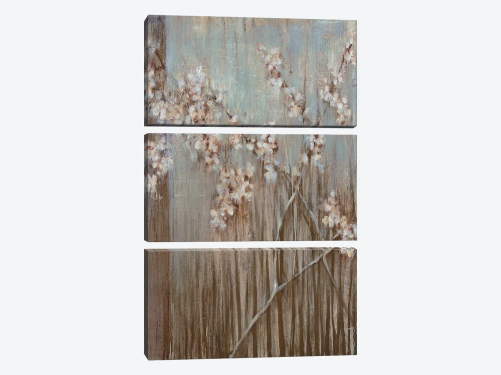 Spring Blossoms by Terri Burris 3-piece Canvas Art Print