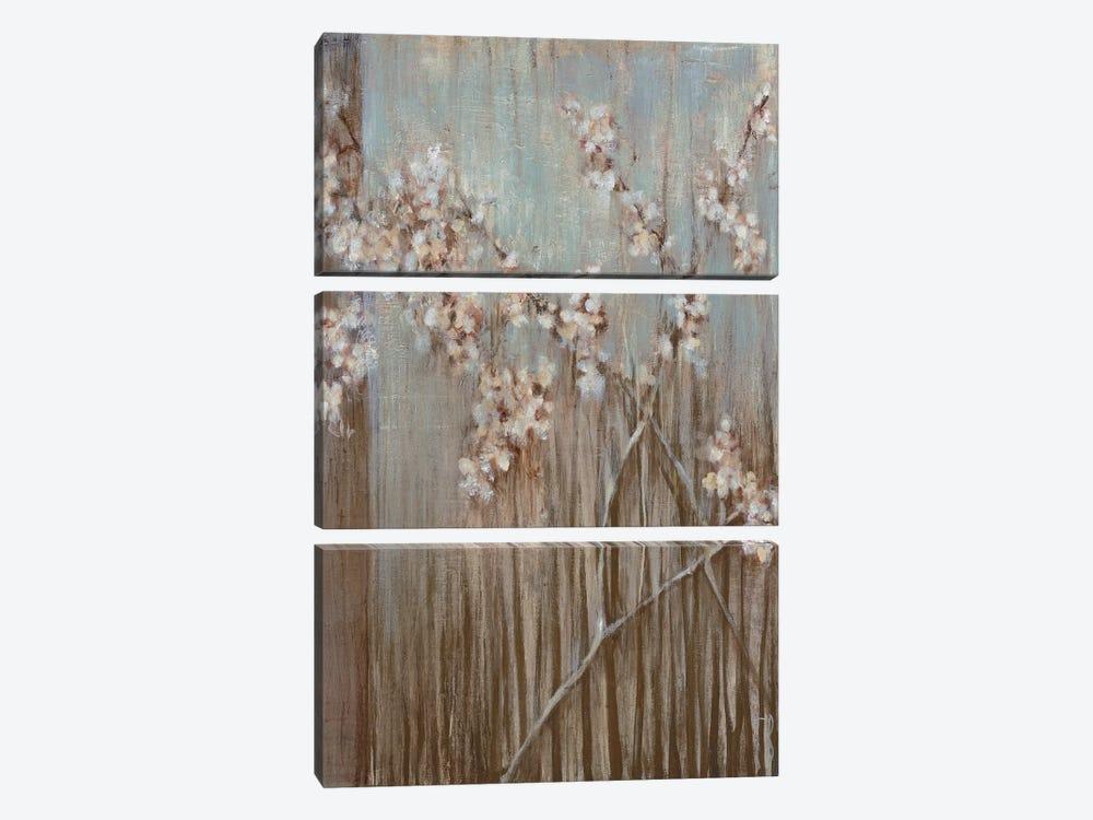 Spring Blossoms by Terri Burris 3-piece Canvas Art Print