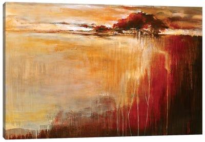 Bordeaux Light Canvas Art Print