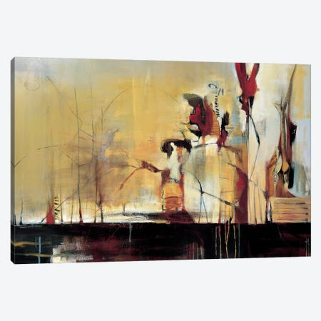 Sculpture Garden 3-Piece Canvas #TBU22} by Terri Burris Canvas Art Print