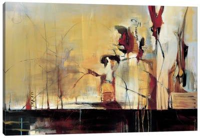 Sculpture Garden Canvas Art Print