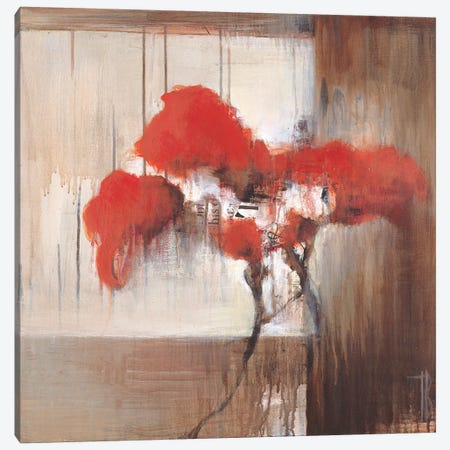 A Solitary Stem I Canvas Print #TBU25} by Terri Burris Canvas Art