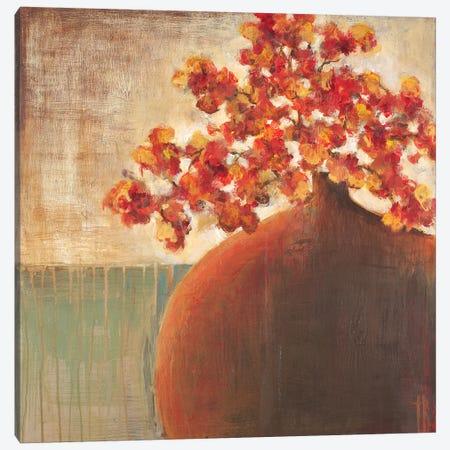 Autumn Blossoms Canvas Print #TBU29} by Terri Burris Art Print