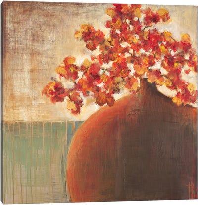 Autumn Blossoms Canvas Art Print