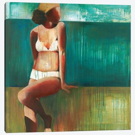 Bathing Beauty Canvas Print #TBU31} by Terri Burris Canvas Art