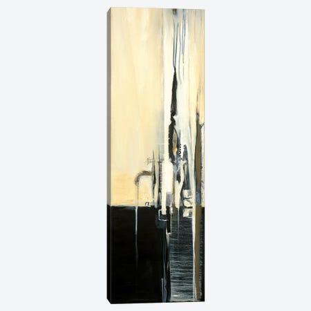 Black and Graphite I Canvas Print #TBU35} by Terri Burris Art Print