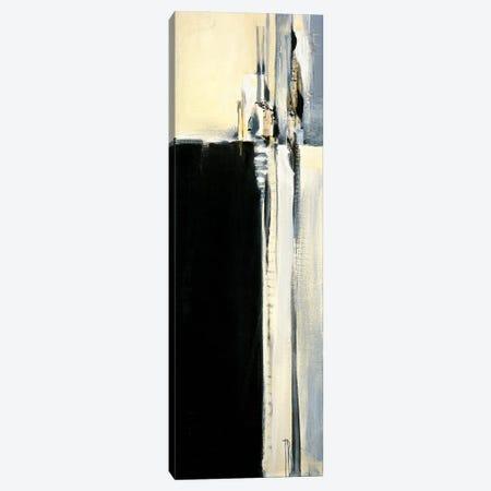 Black and Graphite II Canvas Print #TBU36} by Terri Burris Art Print