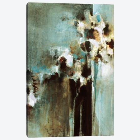 Blue Arrangement I Canvas Print #TBU38} by Terri Burris Canvas Artwork