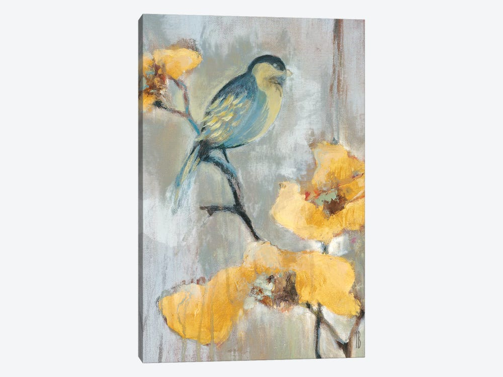 Bluebird I by Terri Burris 1-piece Canvas Art