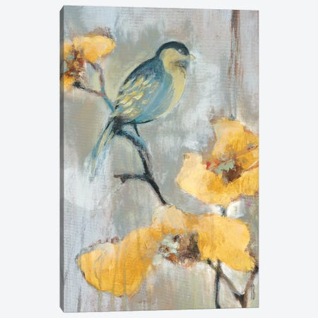 Bluebird I 3-Piece Canvas #TBU3} by Terri Burris Canvas Print