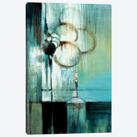 Blue Modern I Canvas Print #TBU40} by Terri Burris Canvas Print