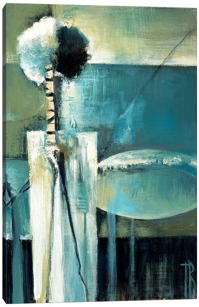 Blue Modern II Canvas Art Print
