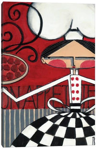 Bon Appetite Canvas Art Print