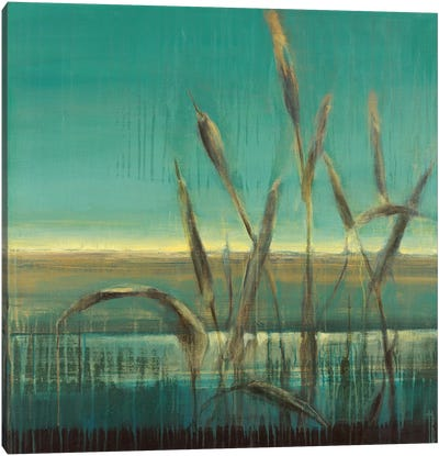 Cattails Canvas Art Print