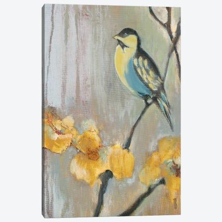 Bluebird II 3-Piece Canvas #TBU4} by Terri Burris Canvas Art