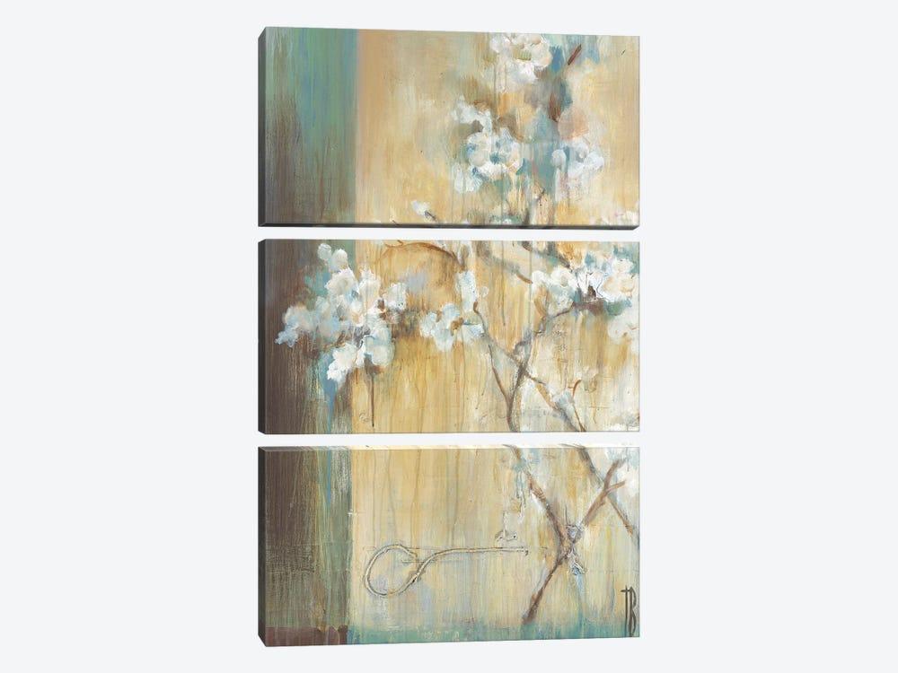 Crystal Branches by Terri Burris 3-piece Canvas Artwork