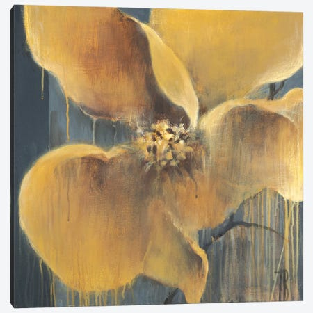 Flor Amarilla Canvas Print #TBU61} by Terri Burris Canvas Print