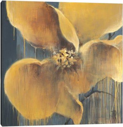 Flor Amarilla Canvas Art Print