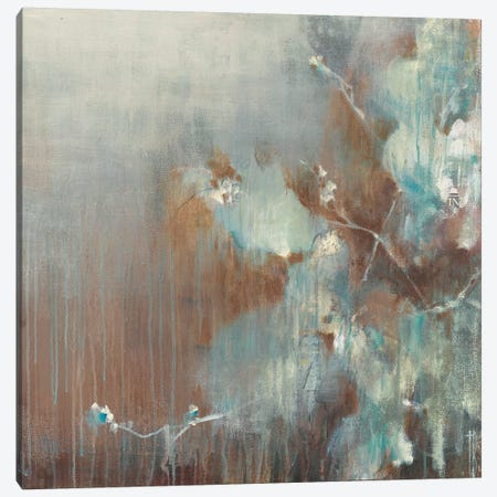 Flowers in the Morning Fog Canvas Print #TBU62} by Terri Burris Canvas Print