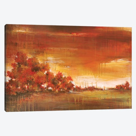 Memory Tree  Canvas Print #TBU79} by Terri Burris Canvas Wall Art