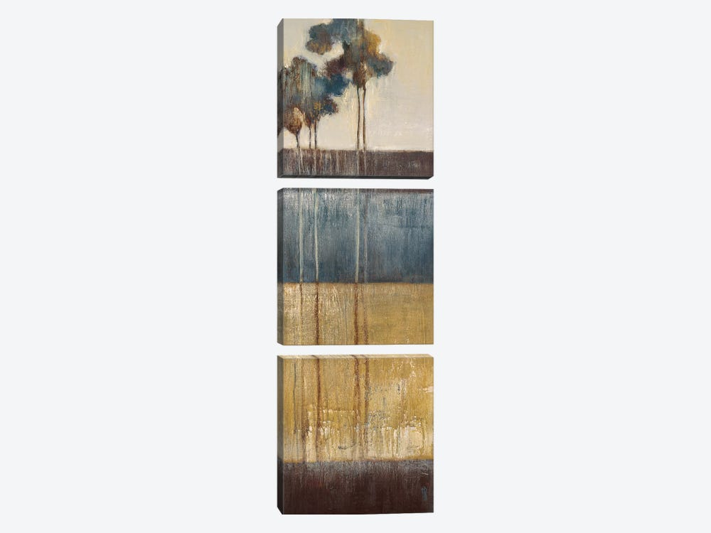 Palisade Palms II by Terri Burris 3-piece Canvas Artwork