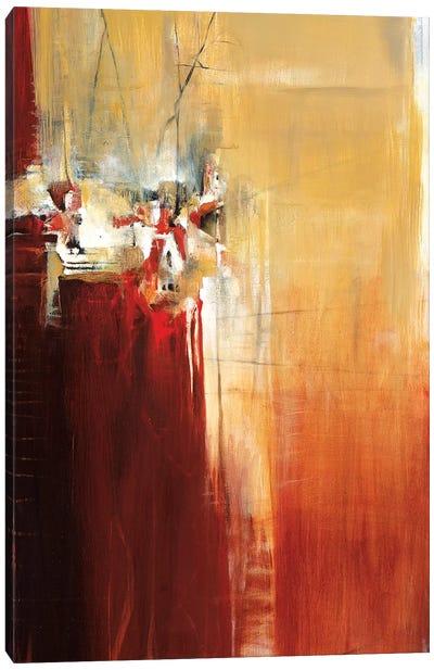 On A Cliff Canvas Art Print