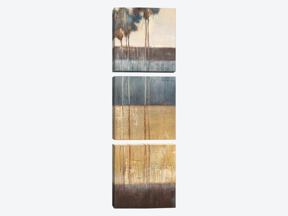 Palisade Palms II by Terri Burris 3-piece Canvas Art