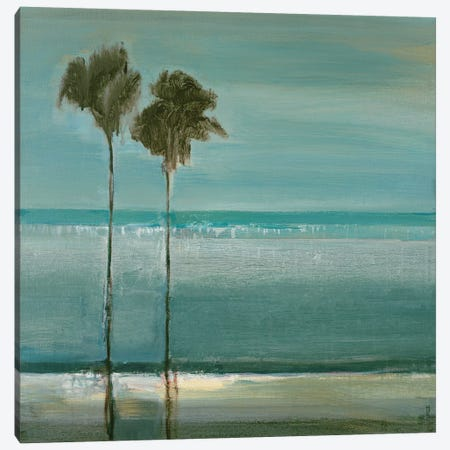 Paradise Cove Canvas Print #TBU8} by Terri Burris Art Print