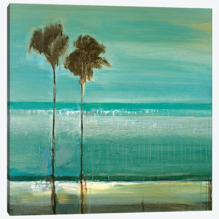 Paradise Cove Canvas Print #TBU90} by Terri Burris Canvas Artwork