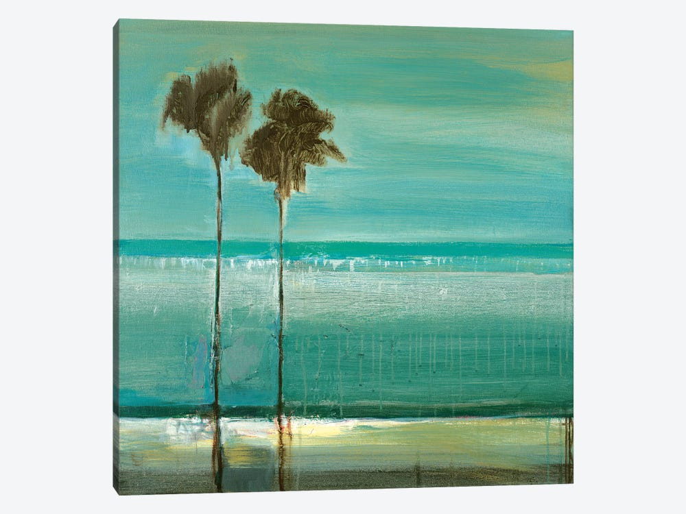 Paradise Cove by Terri Burris 1-piece Canvas Art
