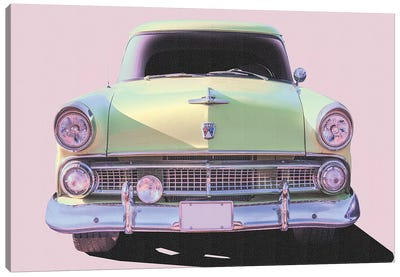 Vintage Ride VI Canvas Art Print