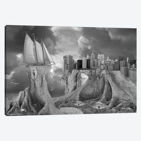 Fish out of Water Canvas Print #TBY10} by Thomas Barbey Canvas Artwork