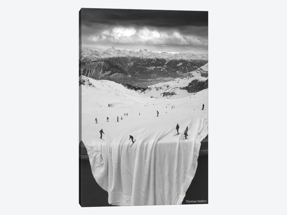 Oh Sheet! by Thomas Barbey 1-piece Canvas Artwork