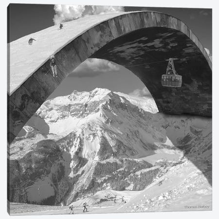 Over the Hill Canvas Print #TBY18} by Thomas Barbey Canvas Wall Art