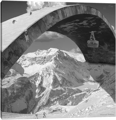 Over the Hill Canvas Art Print