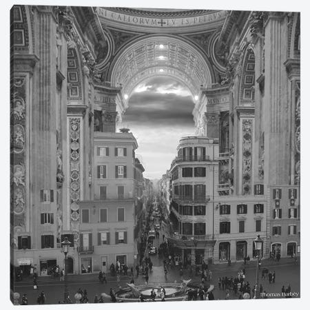 A Hole in the Wall Canvas Print #TBY1} by Thomas Barbey Canvas Print