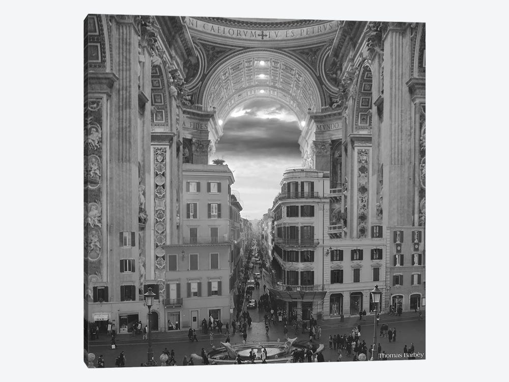 A Hole in the Wall by Thomas Barbey 1-piece Canvas Art