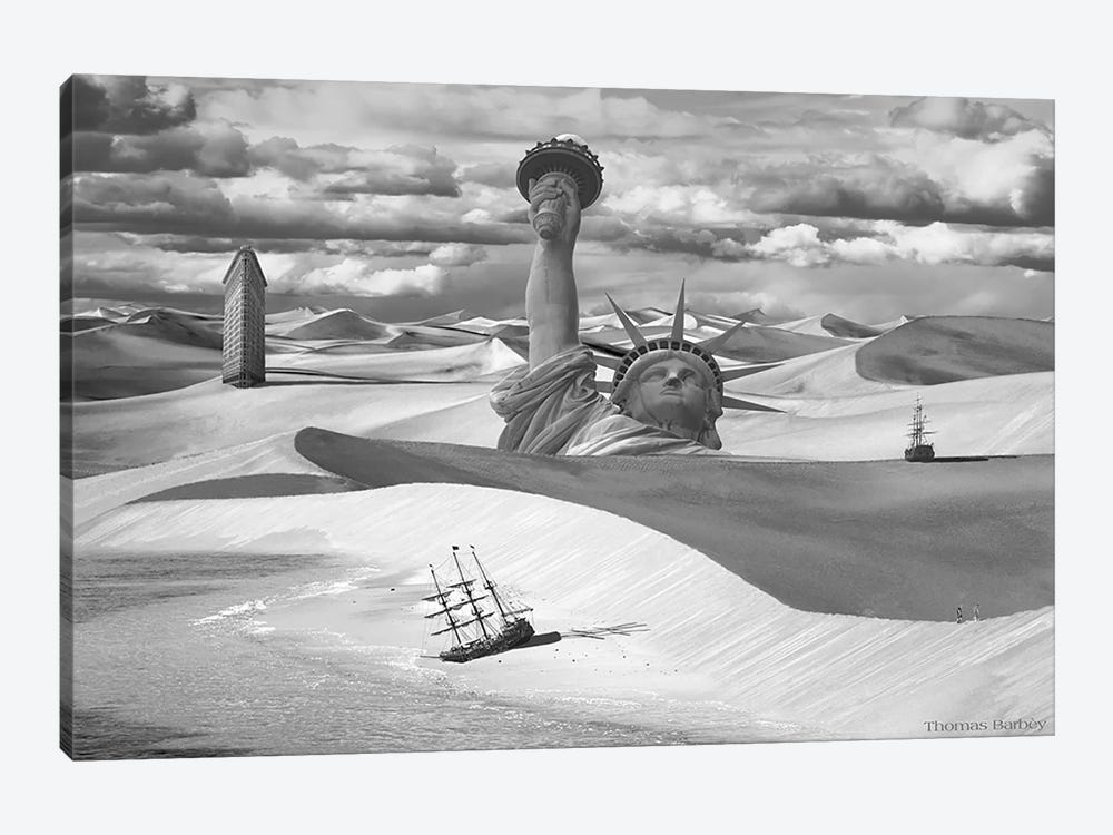 Poor Navigation by Thomas Barbey 1-piece Art Print